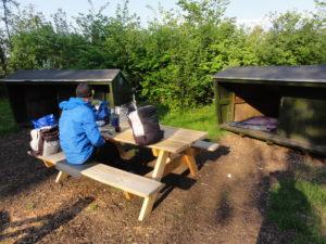 Sheltere ved Bindslev Gl. Elværk
