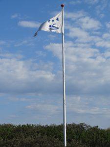Badevandsflag ved Tversted Strand